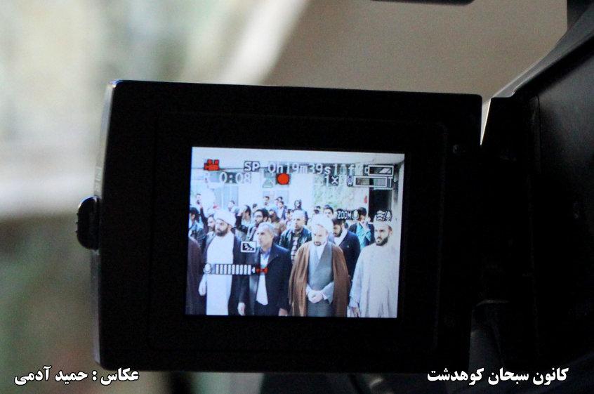 تصاویر تجمع اعتراضی حوزه علمیه کوهدشت به شهادت شیخ نمر (3)