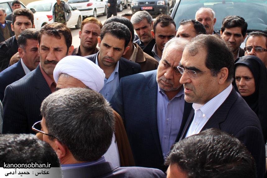 تصاویر حضور وزیر بهداشت در کوهدشت (9)