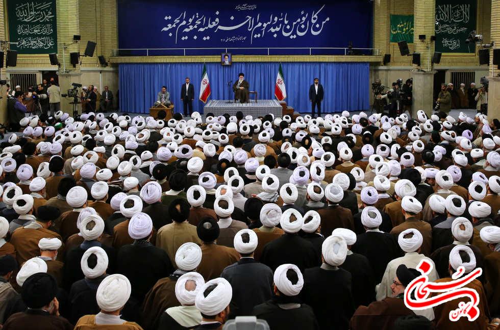 تصاویر دیدار امام جمعه کوهدشت با رهبر معظم انقلاب (4)