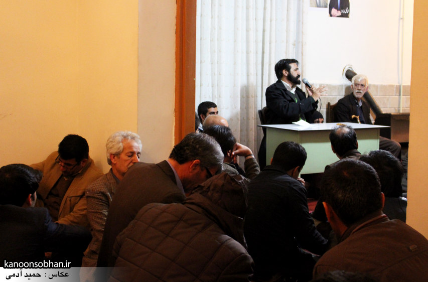 تصاویر سخنرانی محمدبگ قبادی در ستاد امامی راد (1)