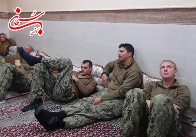 تصاویر نظامیان آمریکایی بازداشت شده در خلیج فارس (1)