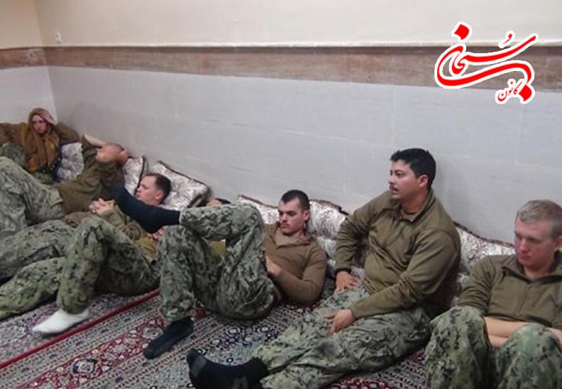 تصاویر نظامیان آمریکایی بازداشت شده در خلیج فارس (5)