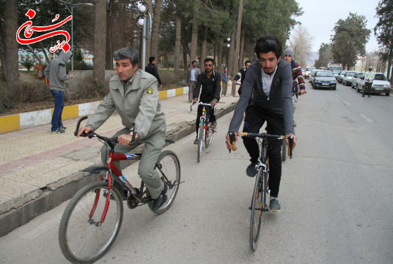 تصاویر همایش دوچرخه سواری کوهدشت (6)