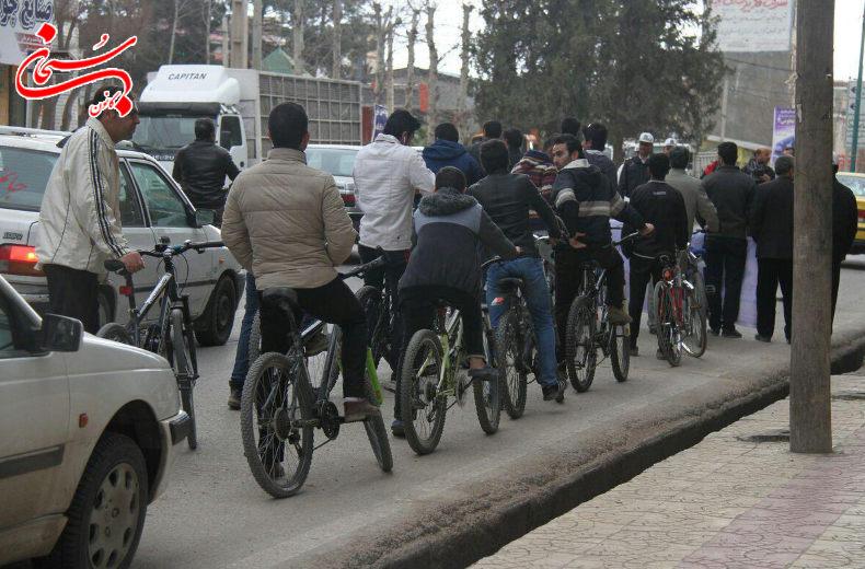 تصاویر همایش دوچرخه سواری کوهدشت (7)