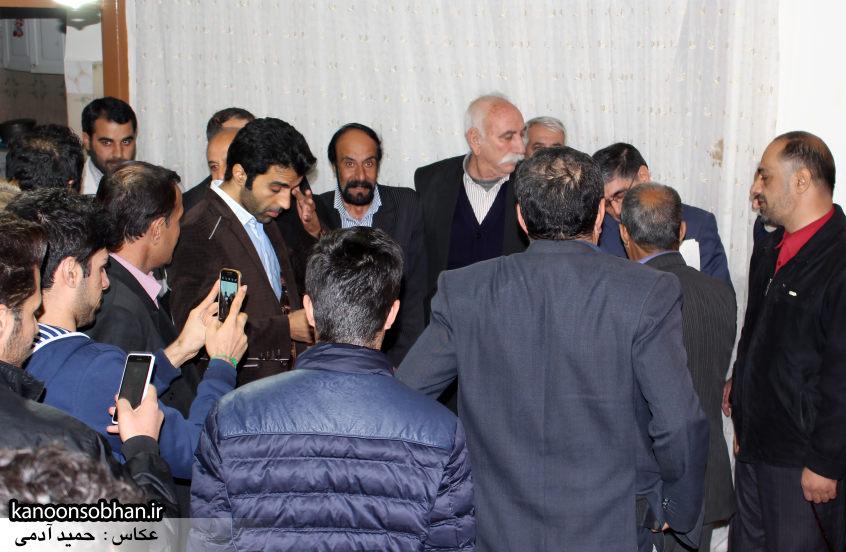حضور علی امامی راد در جمع حامیان