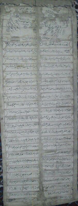 شجره نامه سادات ابوالوفاء کوهدشت + عکس (11)