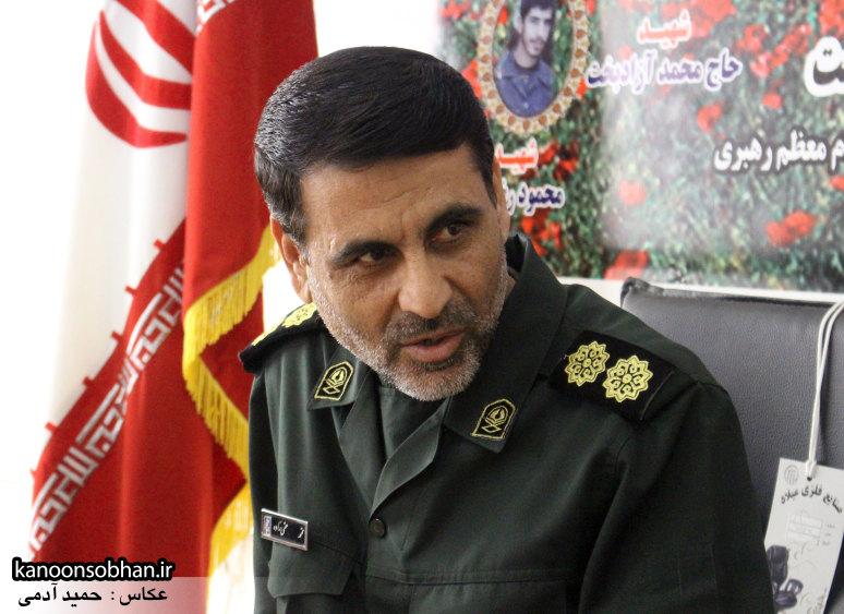 تصاویرنشست خبری با فرمانده سپاه کوهدشت (1)