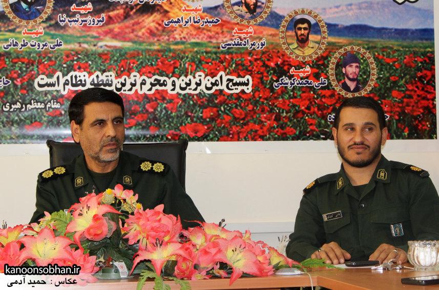 تصاویرنشست خبری با فرمانده سپاه کوهدشت (5)