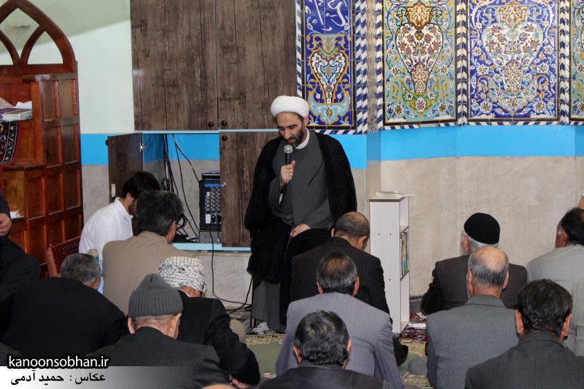 تصاویر حضور آیت الله احمد مبلغی در مسجد جامع کوهدشت (1)