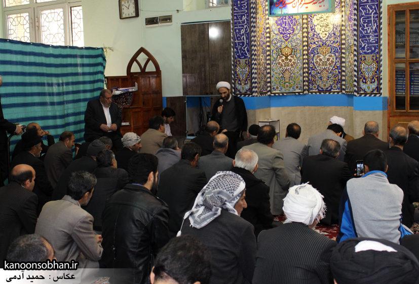 تصاویر حضور آیت الله احمد مبلغی در مسجد جامع کوهدشت (2)