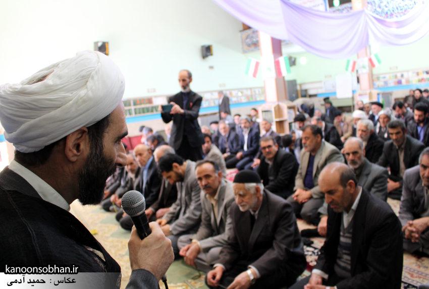 تصاویر حضور آیت الله احمد مبلغی در مسجد جامع کوهدشت (5)