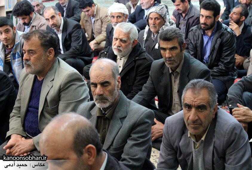 تصاویر حضور آیت الله احمد مبلغی در مسجد جامع کوهدشت (6)