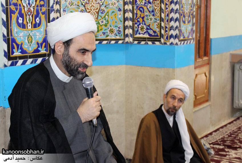 تصاویر حضور آیت الله احمد مبلغی در مسجد جامع کوهدشت (7)