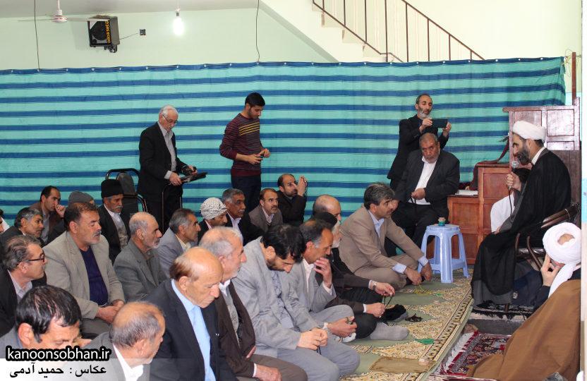 تصاویر حضور آیت الله احمد مبلغی در مسجد جامع کوهدشت (9)