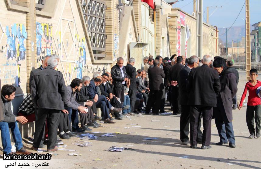 تصاویر حضور پرشور مردم کوهدشت در پای صندوق های رأی (1)