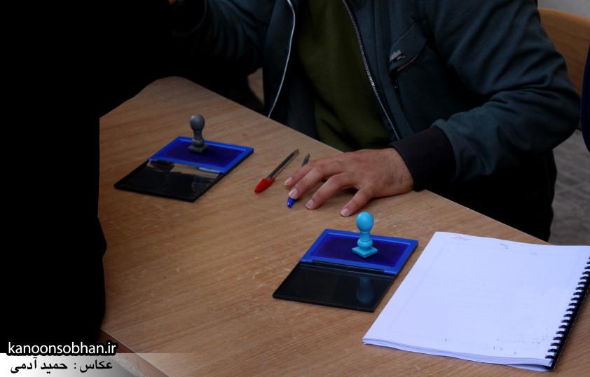 تصاویر حضور پرشور مردم کوهدشت در پای صندوق های رأی (15)