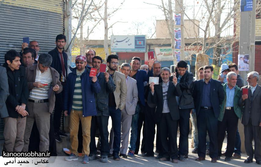 تصاویر حضور پرشور مردم کوهدشت در پای صندوق های رأی (21)