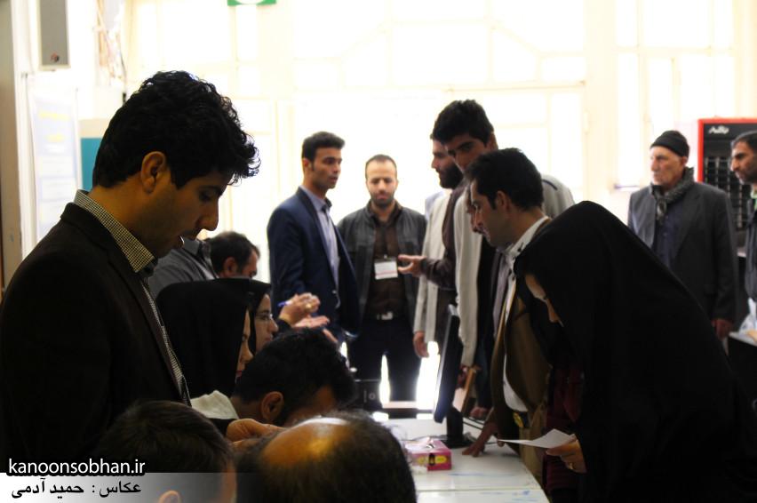 تصاویر حضور پرشور مردم کوهدشت در پای صندوق های رأی (25)
