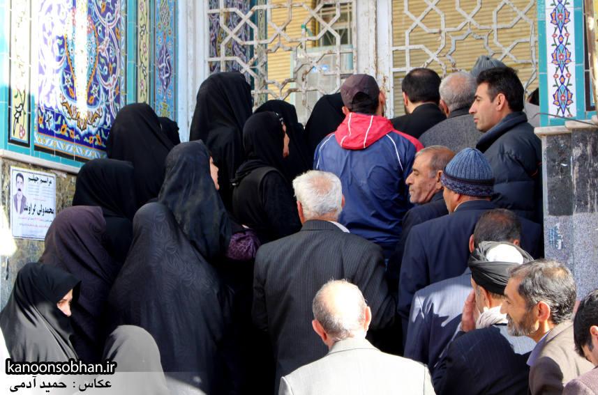 تصاویر حضور پرشور مردم کوهدشت در پای صندوق های رأی (9)