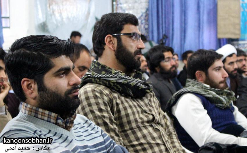 تصاویر سخنرانی سردار یکتا در همایش چهارمین گردهمایی افسران فرهنگی لرستان (14)