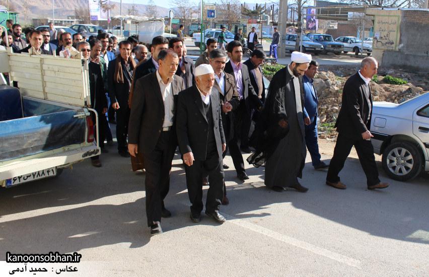 تصاویر سفر آیت الله احمد مبلغی به رومشکان و سوری (3)