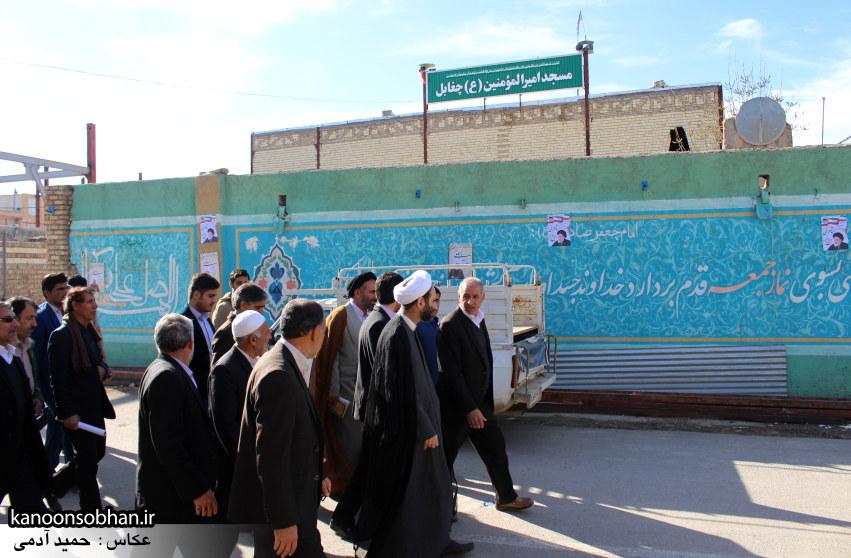 تصاویر سفر آیت الله احمد مبلغی به رومشکان و سوری (4)