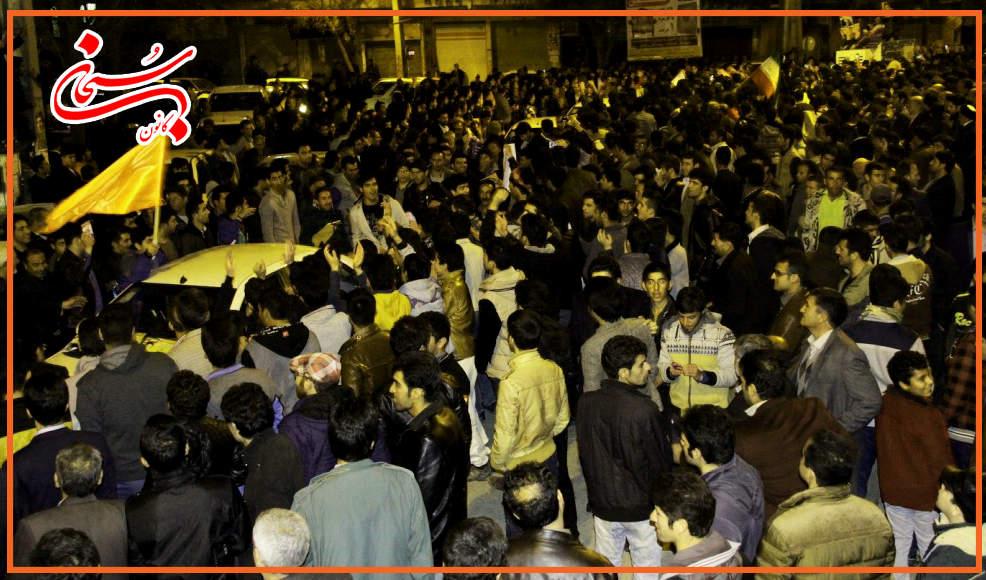 تصاویر سونامی شبانه هواداران علی امامی راد (3)