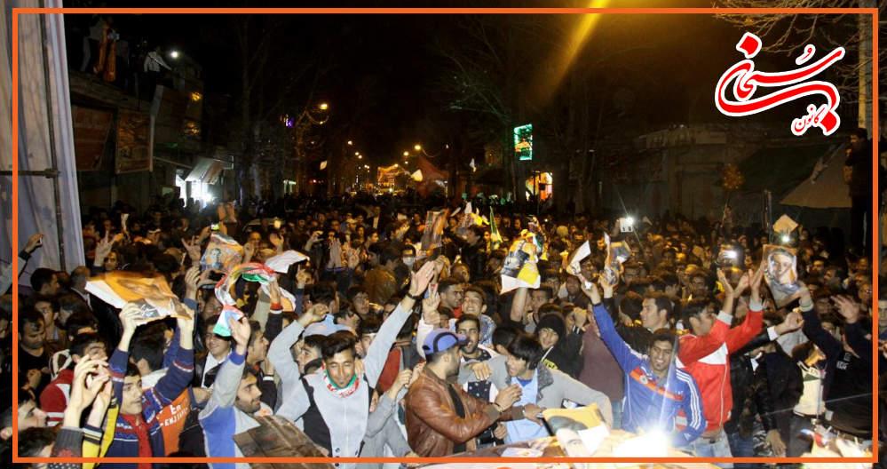 تصاویر سونامی شبانه هواداران علی امامی راد (4)