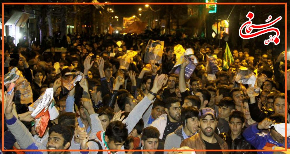 تصاویر سونامی شبانه هواداران علی امامی راد (5)