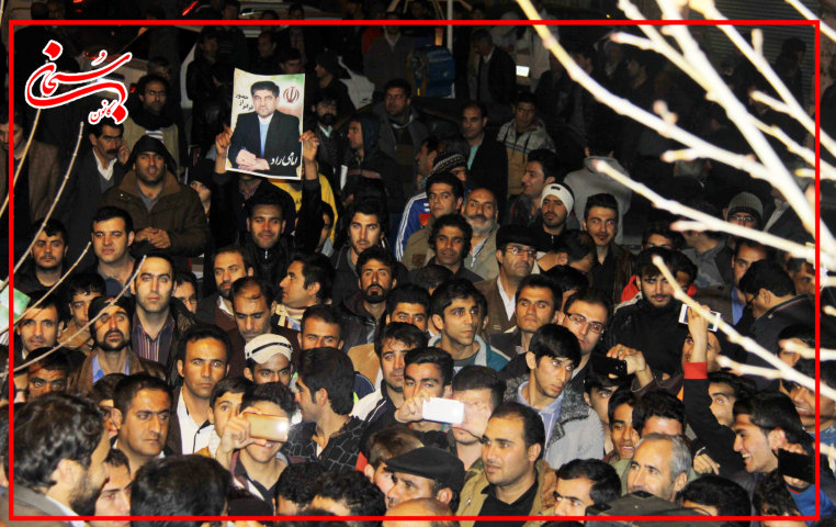 تصاویر سیل عظیم جامعه ایمانی کوهدشت در حمایت از علی امامی راد  (5)