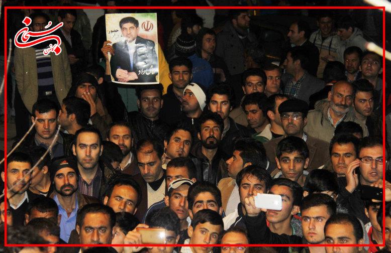 تصاویر سیل عظیم جامعه ایمانی کوهدشت در حمایت از علی امامی راد  (6)