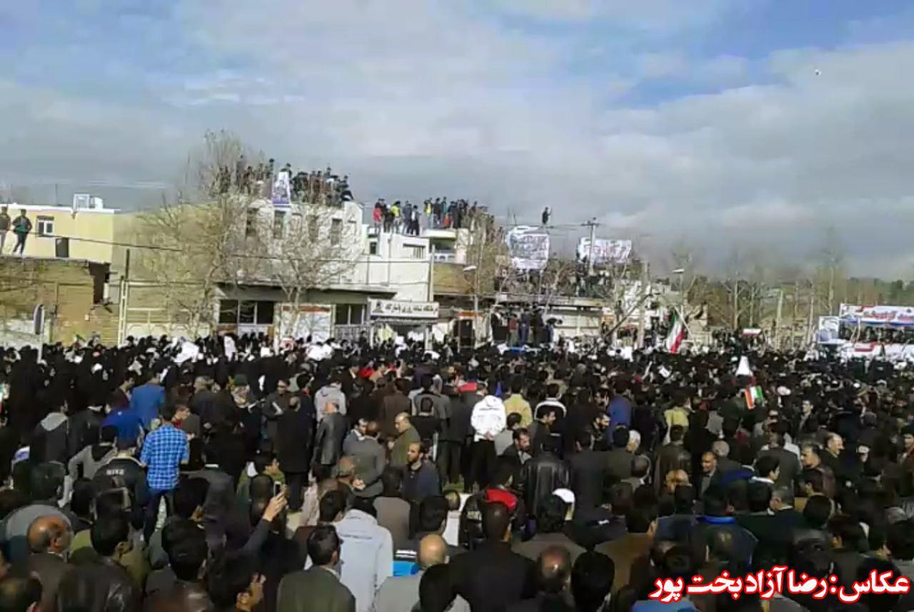 تصاویر همایش بزرگ محمد آزادبخت در کوهدشت (1)