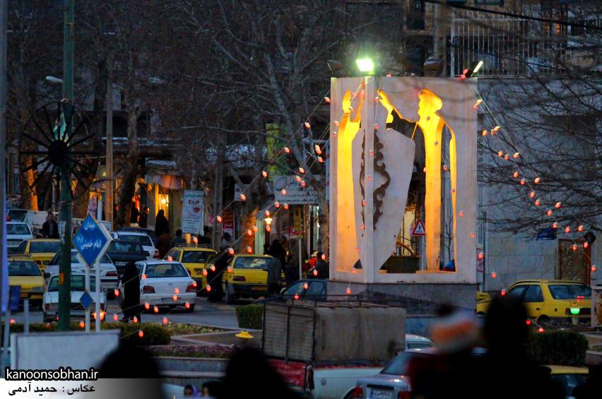تصویری قدیمی از میدان امام (ره) کوهدشت (1)