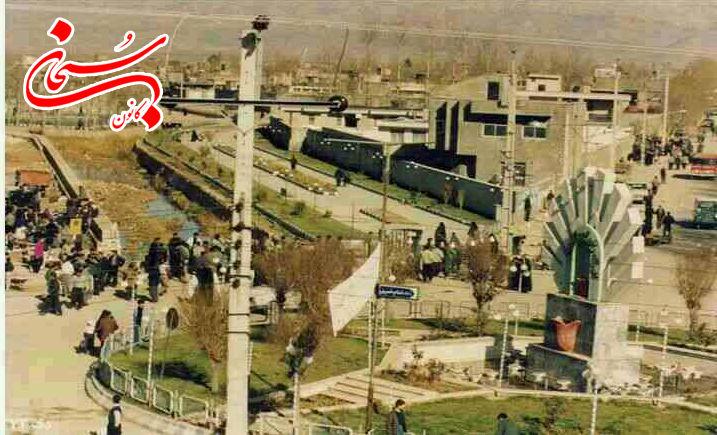 تصویری قدیمی از میدان امام (ره) کوهدشت (3)