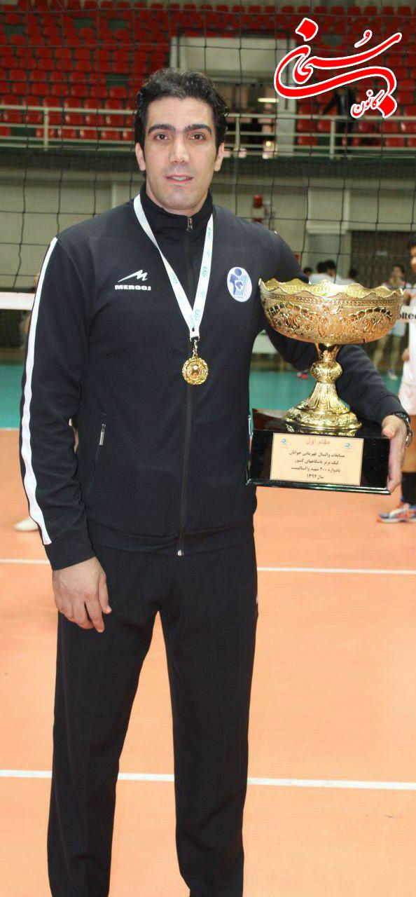 تیم محمد سلیمانی قهرمان والیبال کشور شد (2)