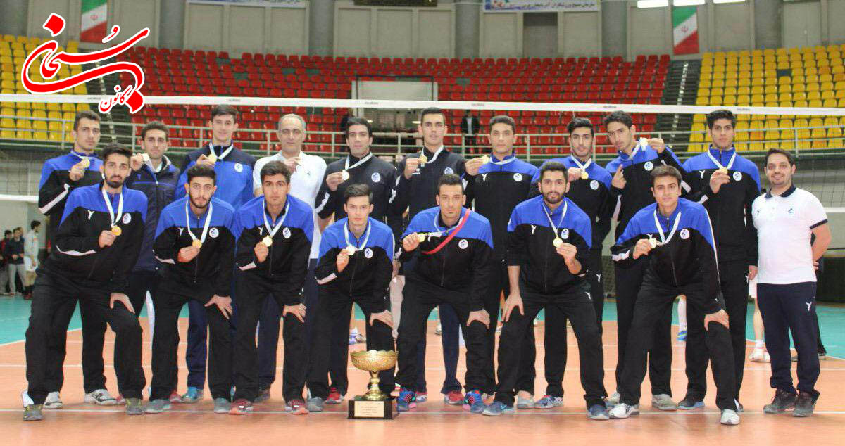 تیم محمد سلیمانی قهرمان والیبال کشور شد (5)