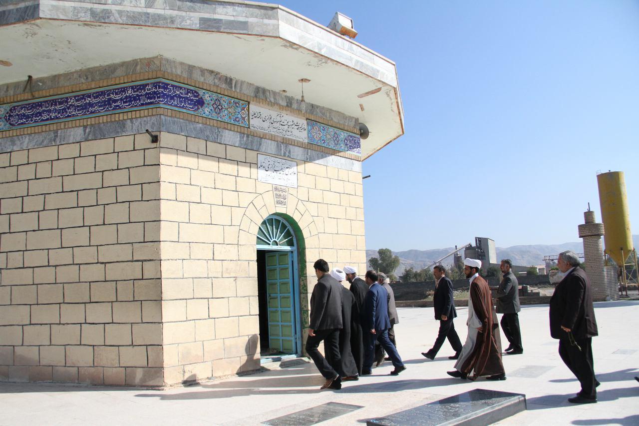 سری دوم تصاویر سفر آیت الله احمد مبلغی به پلدختر (2)