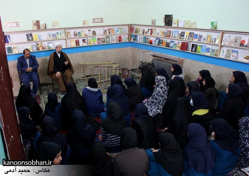 کلاس اخلاق دانش آموزان باغ مینوی کوهدشت در مسجد جامع (6)