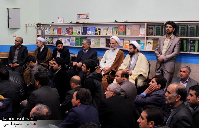 گزارش تصویری جلسه پرسش و پاسخ آیت الله احمد مبلغی و اساتید دانشگاه و فرهنیگان کوهدشت   (5)