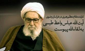 آيت الله واعظ طبسي مشهد در گذشت