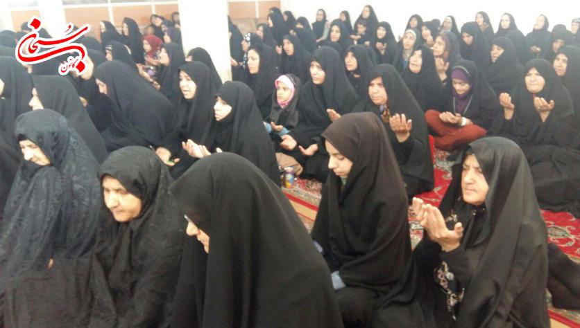 تصاویرجشن میلاد حضرت زهرا(س) در اداره بنیاد شهید کوهدشت (9)