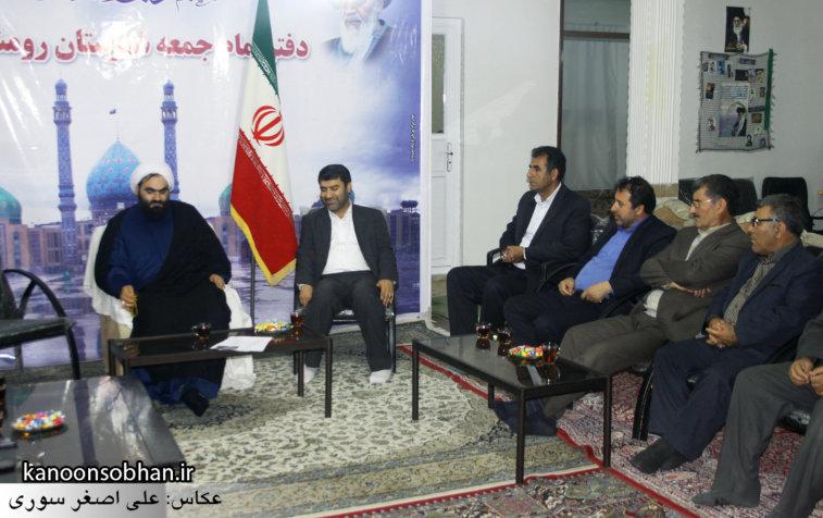 تصاویر دیدار دکتر الهیار ملکشاهی با امام جمعه رومشکان (1)