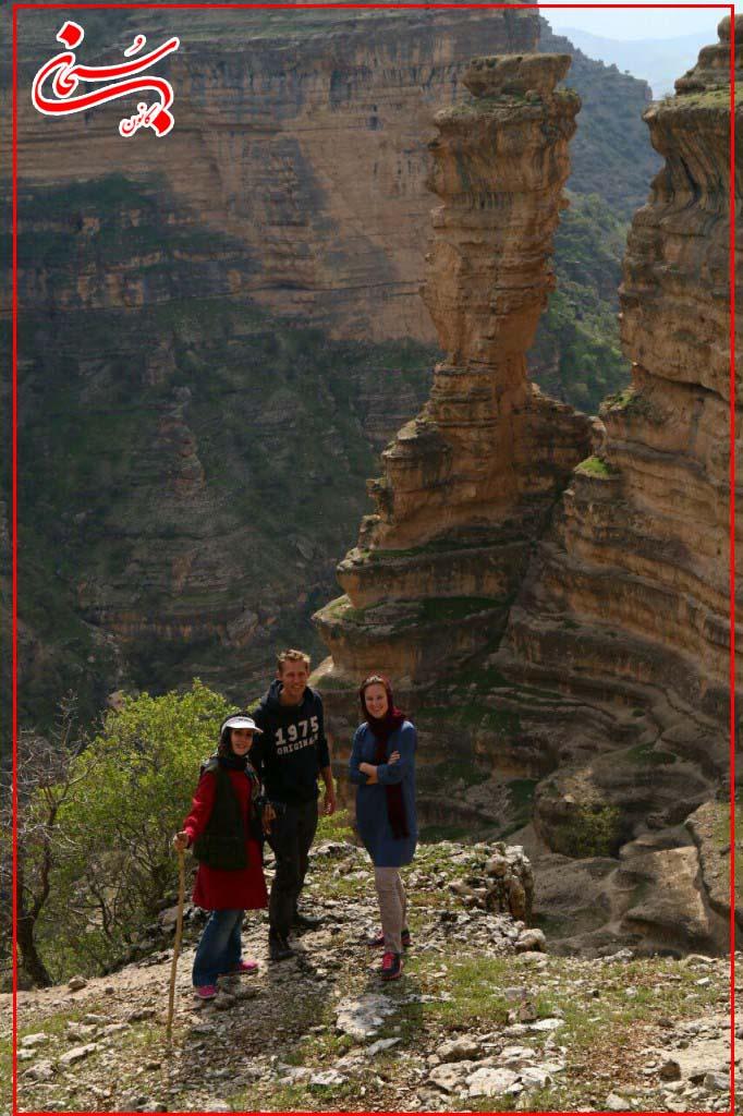 تصاویر سفر دو زوج هلندی از دره شیرز کوهدشت لرستان (2)