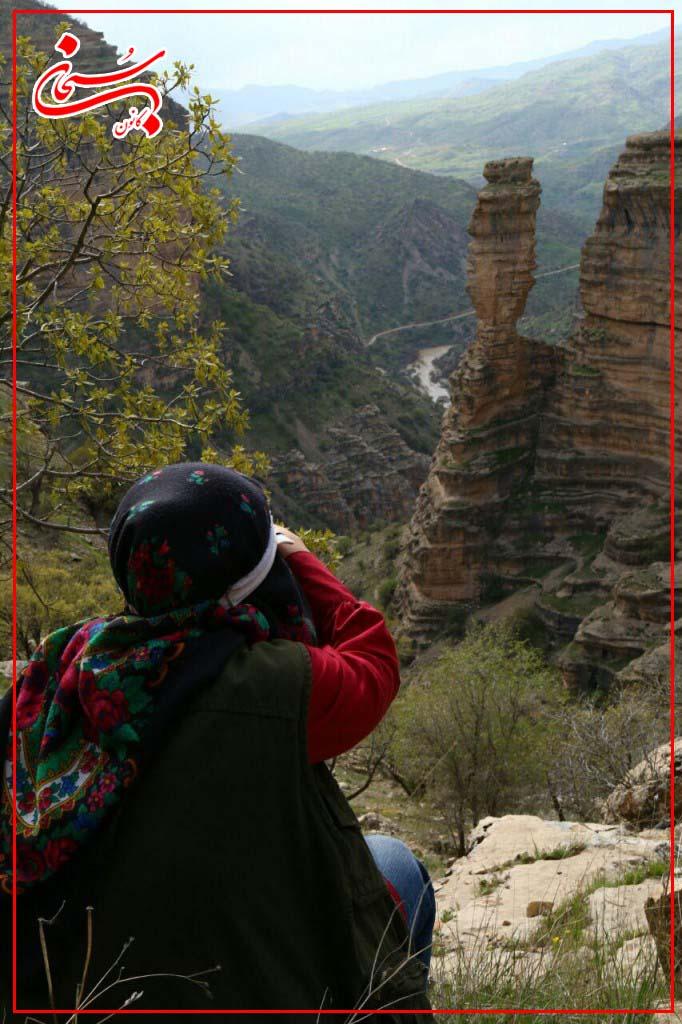 تصاویر سفر دو زوج هلندی از دره شیرز کوهدشت لرستان (3)