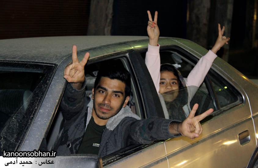 تصاویر شادی طرفداران الهیار ملکشاهی در کوهدشت (4)