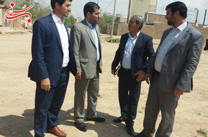 بازديد فرماندار كوهدشت از پروژه هاي عمراني سطح شهر  (1)