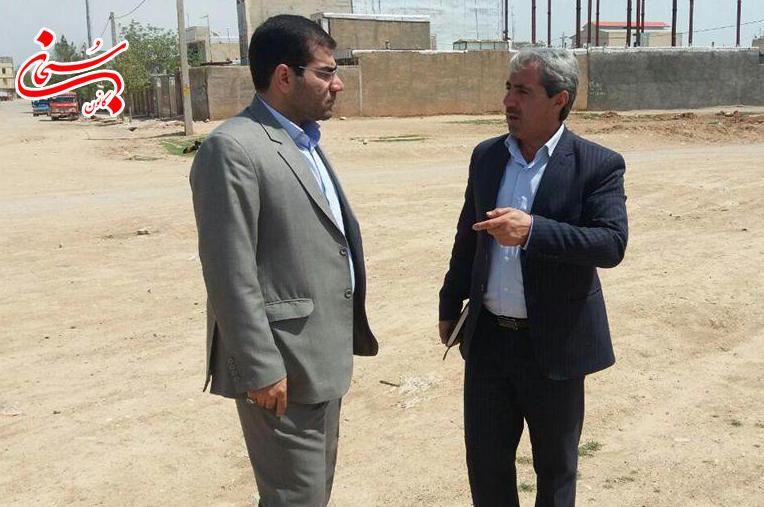 بازديد فرماندار كوهدشت از پروژه هاي عمراني سطح شهر  (2)