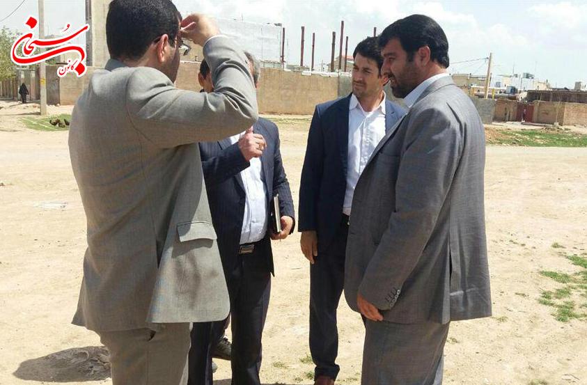 بازديد فرماندار كوهدشت از پروژه هاي عمراني سطح شهر  (3)