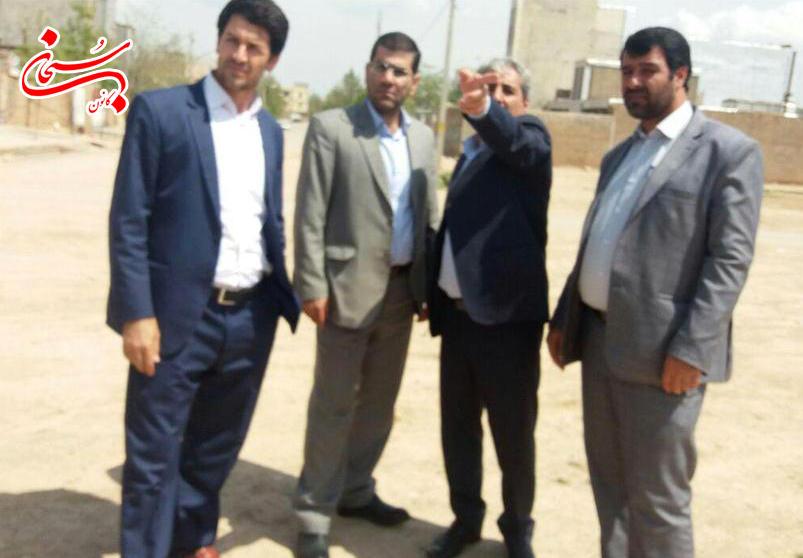 بازديد فرماندار كوهدشت از پروژه هاي عمراني سطح شهر  (4)