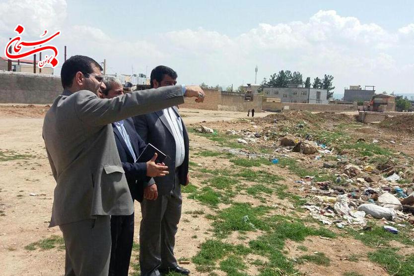 بازديد فرماندار كوهدشت از پروژه هاي عمراني سطح شهر  (5)